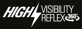 high visibility reflex 360°