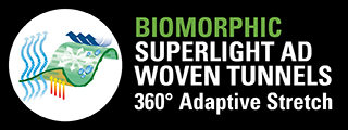 L BIOMORPHIC SUPERLIGHT AD WOVEN TUNNELS