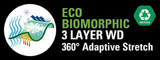 T ECO BIOMORPHIC 3 LAYER WD